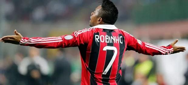 robinho milan x internazionale (Foto: Reuters)
