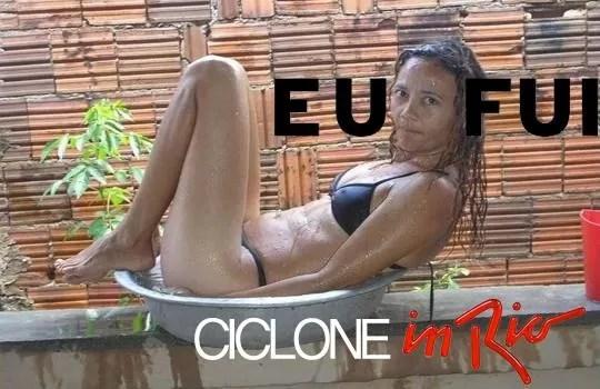Memes da chuva no Rio (Foto: Reprodução de internet)