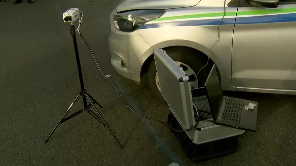 """Blitz de veículos do Detran contará com """"câmera inteligente"""""""