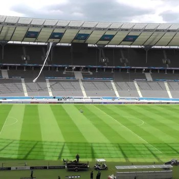 Liga dos Campeões Estádio Olímpico Berlim (Foto: Claudia Garcia)