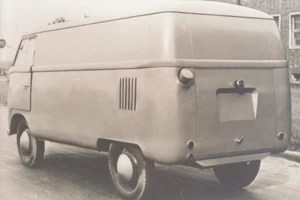 Tipo 29, ainda protótipo, com bocal do taqneu externo e saídas de ar na vertical (Foto: Divulgação)