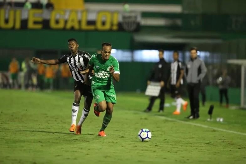 Atlético-MG foi eliminado da Copa do Brasil 2018 pela Chapecoense — Foto: Sirli Freitas/Chapecoense