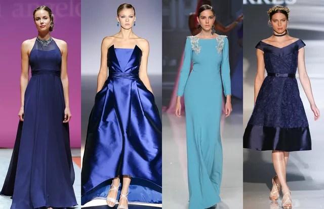 Vestidos de madrinhas azuis: 15 looks clássicos (Foto: IMaxTree)