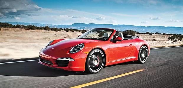 Porsche 911 Carrera S Cabriolet (Foto: Motor Trend)