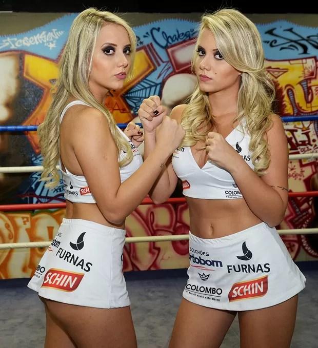 As gêmeas Amanda e Andressa Santos (Foto: Leo Marinho / Divulgação)