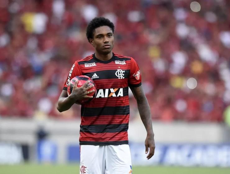 Vitinho é maior contratação da história do Flamengo (Foto: André Durão/GloboEsporte.com)