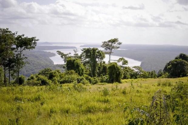 Serra do Piria tem vista privilegiada do município (Foto: Divulgação Prefeitura de Viseu)