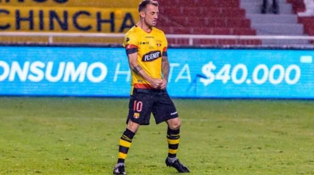 Damián Díaz, destaque do Barcelona de Guayaquil — Foto: Divulgação/Barcelona de Guayaquil