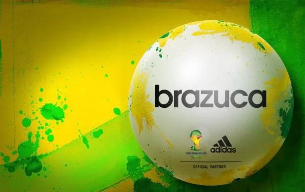 Brazuca, a nova bola da Copa.