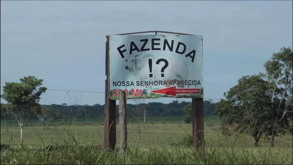 Fazenda Nossa Senhora Aparecida em Chupinguaia, Rondônia  — Foto: Gabryel Biavatti