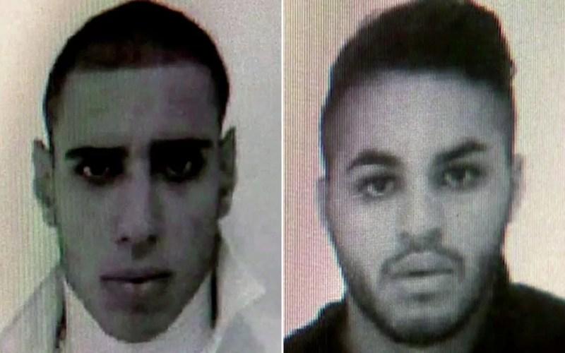 Os dois suspeitos de espancar e matar Ruas foram identificados como Alípio Rogério Belo dos Santos e Ricardo Nascimento Martins (Foto: TV Globo/Reprodução)