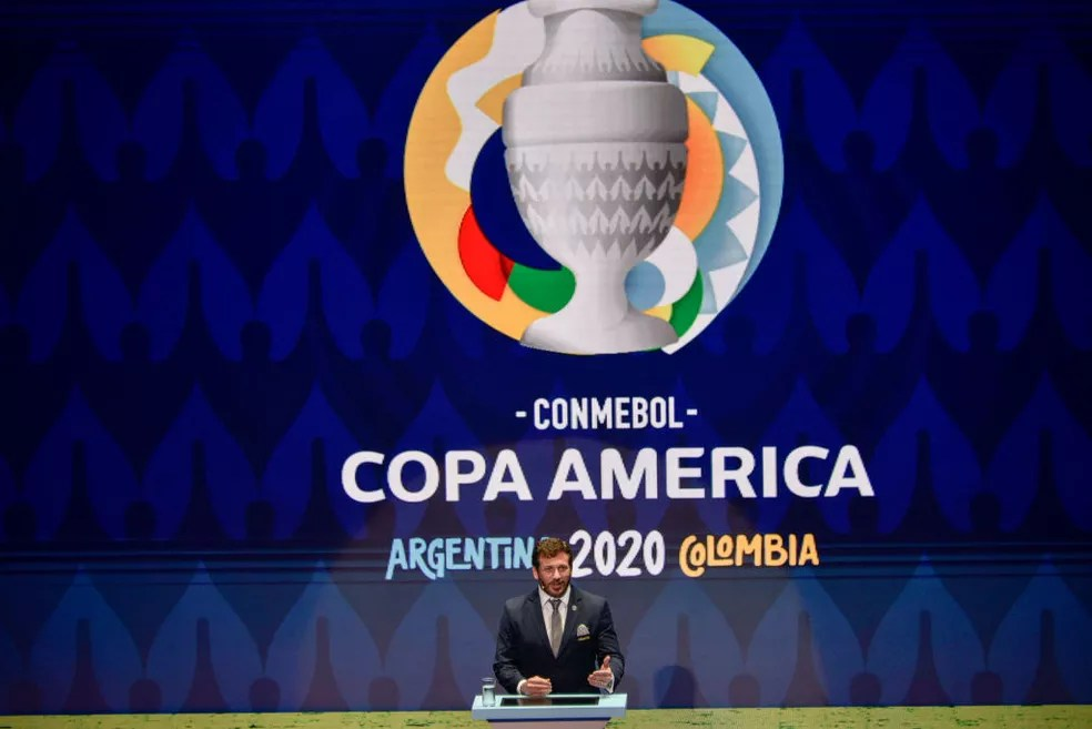 Copa América seria em 2020, mas foi adiada para 2021 — Foto: Getty Images