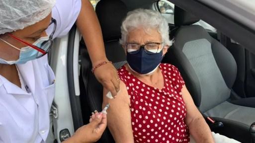 Aplicação de segunda dose da Coronavac está suspensa em Natal e Parnamirim — Foto: Lucas Cortez/Inter TV Cabugi
