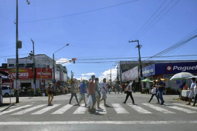 Comércio terá retomada gradual no RN — Foto: Pedro Vitorino/Cedida