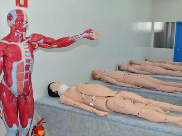 FUNEPE apresenta novo campus, pensado inteiramente para receber o curso de Medicina (Foto: FUNEPE/Divulgação)