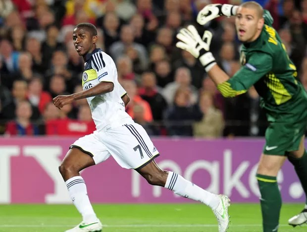 ramires chelsea x barcelona (Foto: Getty Images)