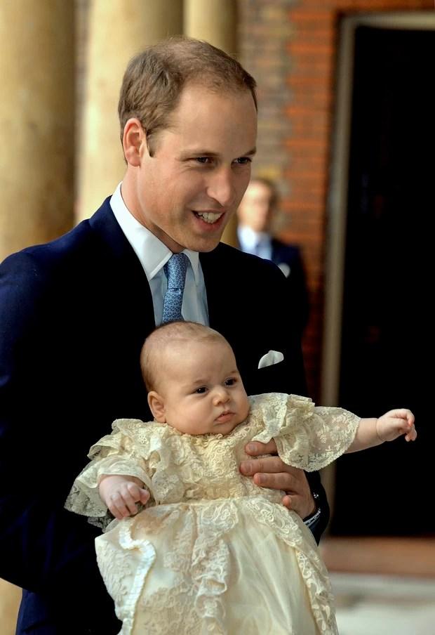 Principe William e Principe George (Foto: Reuters / Agência)
