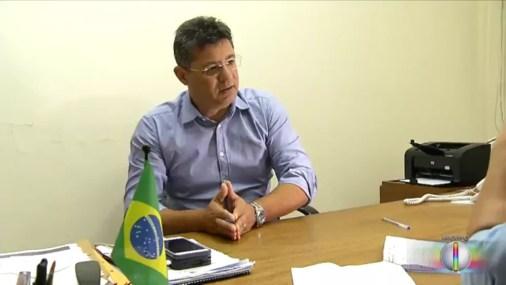 Fred Queiroz, ex-secretário de Obras de Natal, é investigado na operação Manus e foi denunciado pelo MPF (Foto: Reprodução/Inter TV Cabugi)