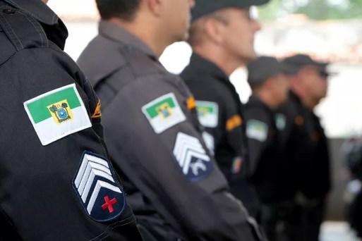 Polícia Militar do Rio Grande do Norte — Foto: Demis Roussos/Governo do RN