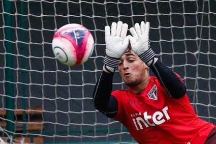 Jean tem contrato com o São Paulo por cinco temporadas (Foto: Marcelo Zambrana/AGIF/Estadão Conteúdo)