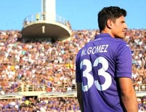Mario Gomez Fiorentina (Foto: Agência Efe)