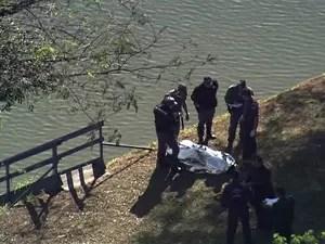 Polícia encontra corpo de estudante na raia olímpica da USP - GNews (Foto: Reprodução/GloboNews)