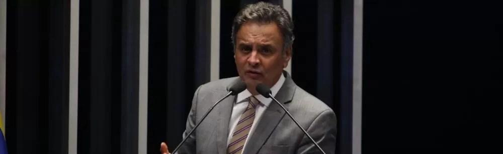 Senador Aécio Neves. (Foto: George Gianni)