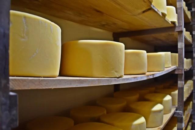 Minas Gerais é o maior produtor de queijo do país — Foto: Fernanda Rodrigues/G1