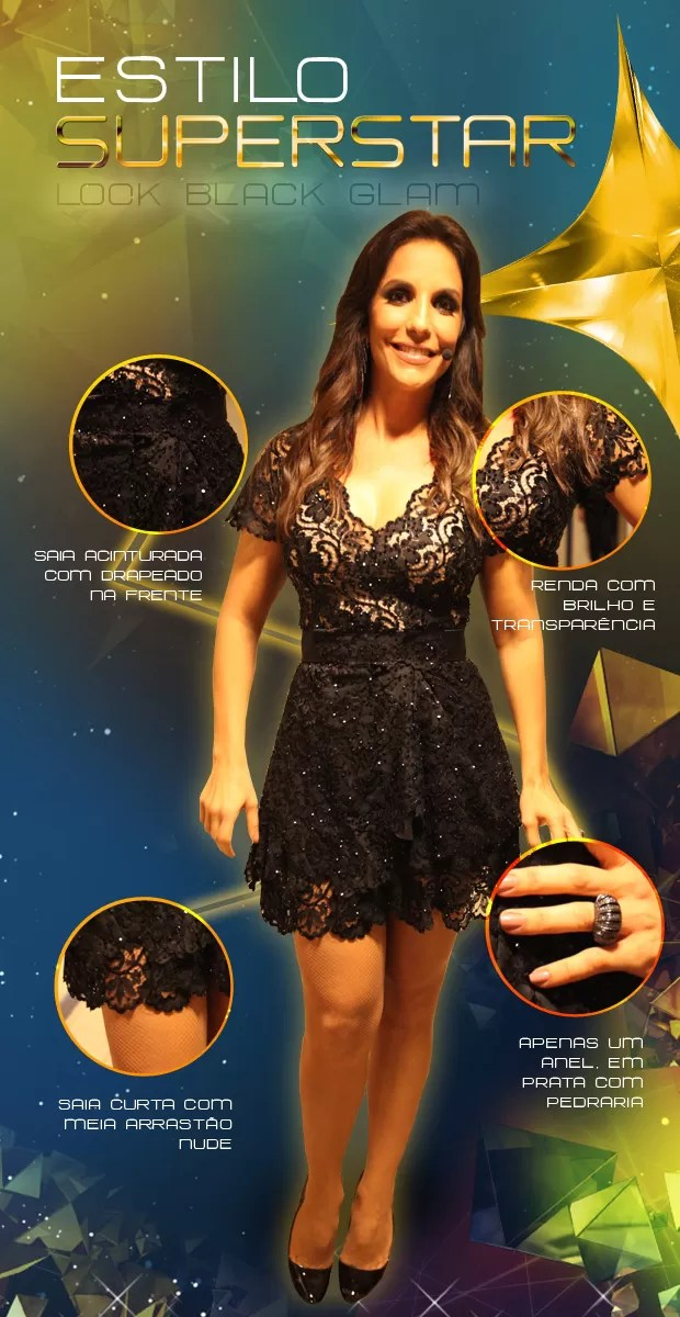 Look Ivete Final (Foto: SuperStar / TVGlobo)