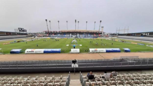 Estádio Rei Pelé vai ser palco do jogo entre CSA e Botafogo — Foto: Ailton Cruz/Gazeta de Alagoas