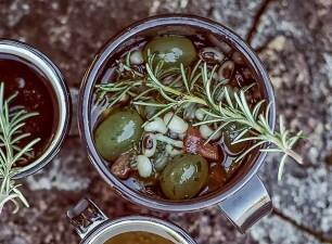 Vinagrete de feijão-fradinho e uvas (Foto: Rogério Voltan/ Editora Globo)