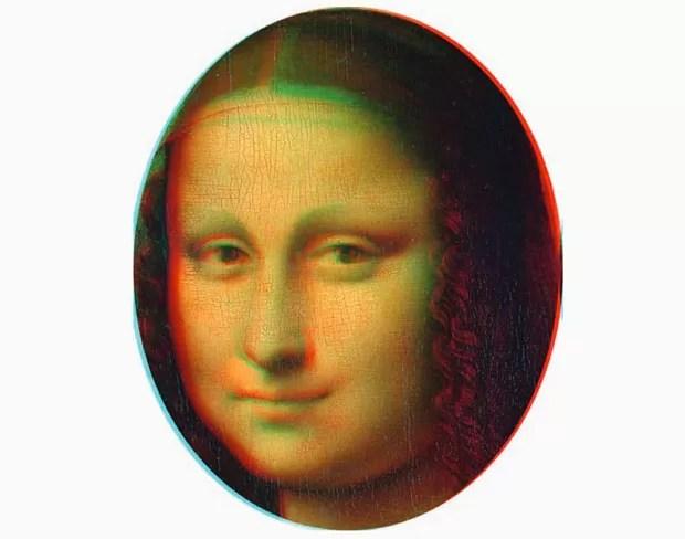 Mona Lisa (FOTO: DIVULGAÇÃO/CORTESIA CLAUS-CHRISTIAN CARBON E VERA M. HASSLINGER)