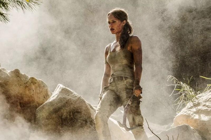 Alicia Vikander interpreta Lara Croft em 'Tomb Raider: A origem' e vem ao Brasil para a CCXP 2017  (Foto: Divulgação)