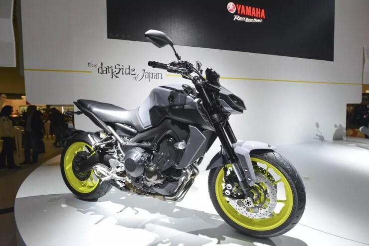 Yamaha MT-09 — Foto: Divulgação / Intermot
