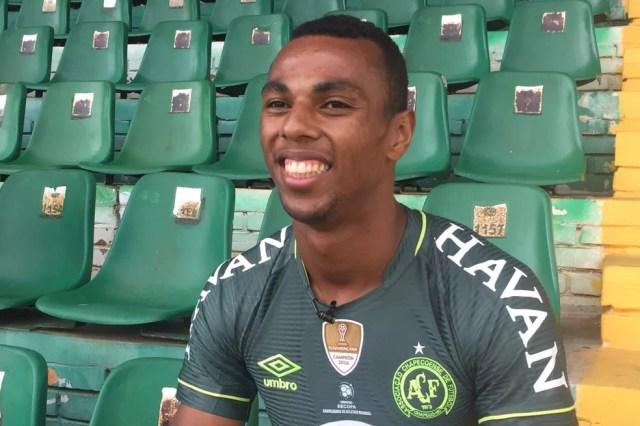 São Paulo sondou Luiz Otávio, da Chapecoense (Foto: Cahê Mota / GloboEsporte.com)
