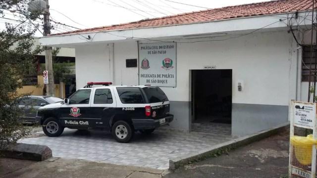 Polícia Civil de São Roque vai investigar o assalto na loja Casas Bahia (Foto: São Roque Notícias/Divulgação)