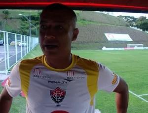 ednilson sena, preparador físico do vitoria (Foto: Thiago Pereira/Globoesporte.com)