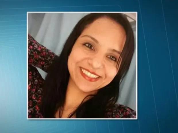 Soldado da PM Adriana Andrade, baleada em roubo na Ceagesp (Foto: Reprodução/TV Globo)