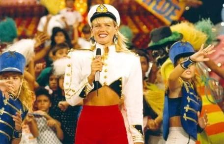 "O ""Xou da Xuxa"" premiered in 1986 at Globo Arquivo"