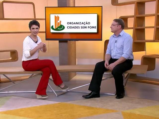 ONG Cidades sem Fome: em São Paulo já são 21 hortas comunitárias; como será? (Foto: Globo)