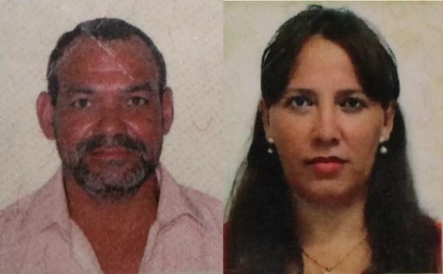 Otacilio Parreira da Silva e Lucimene Borges Ferreira morreram no acidente (Foto: Djeferson Kronbauer/Power Mix)