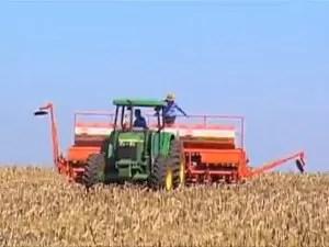 Produtores de MS estão otimistas para a próxima safra de soja (Foto: Reprodução/TV Morena)