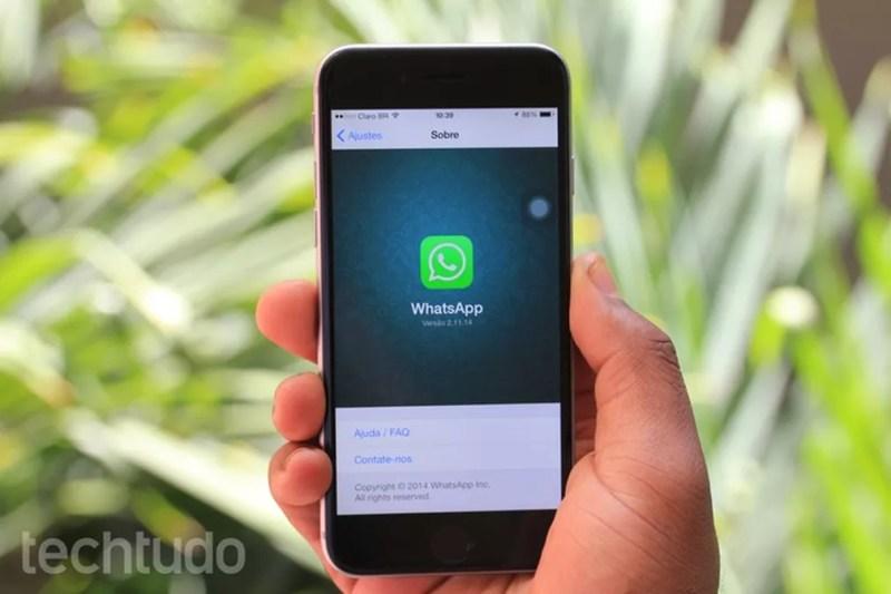 WhatsApp, faça contato e denuncie spam (Foto: WhatsApp aumenta limite de grupos para 256 pessoas (Foto: Anna Kellen Bull/TechTudo))