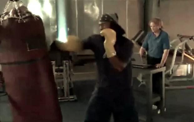 Chris Byrd, ex-lutador de boxe participou da série Ciência do Esporte (Foto: TV Globo)