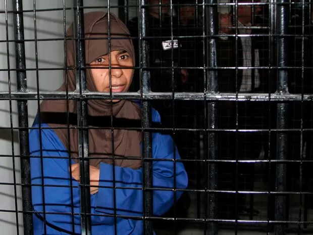 A jihadista iraquiana Sajida al-Rishawi, que foi executada pelo governo da Jordânia (Foto: Majed Jaber/Reuters)
