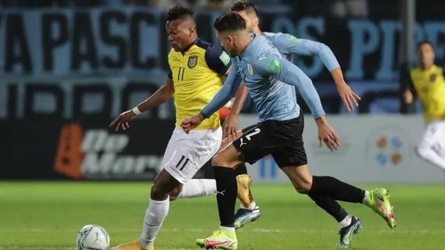 Uruguai x Equador; Eliminatórias