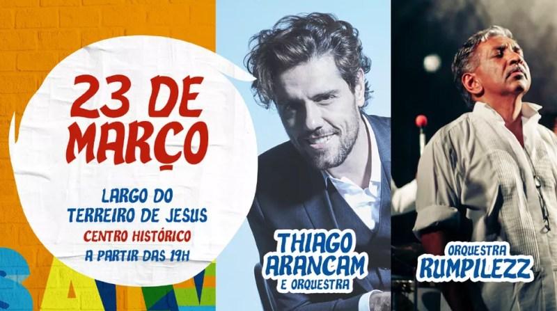Primeiro dia de shows do Festival da Cidade (Foto: Divulgação)