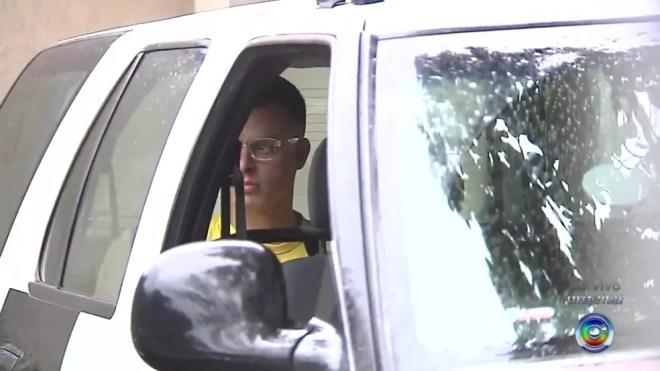 Vinícius Coradim foi acusado de três crimes — Foto: Reprodução/TV TEM