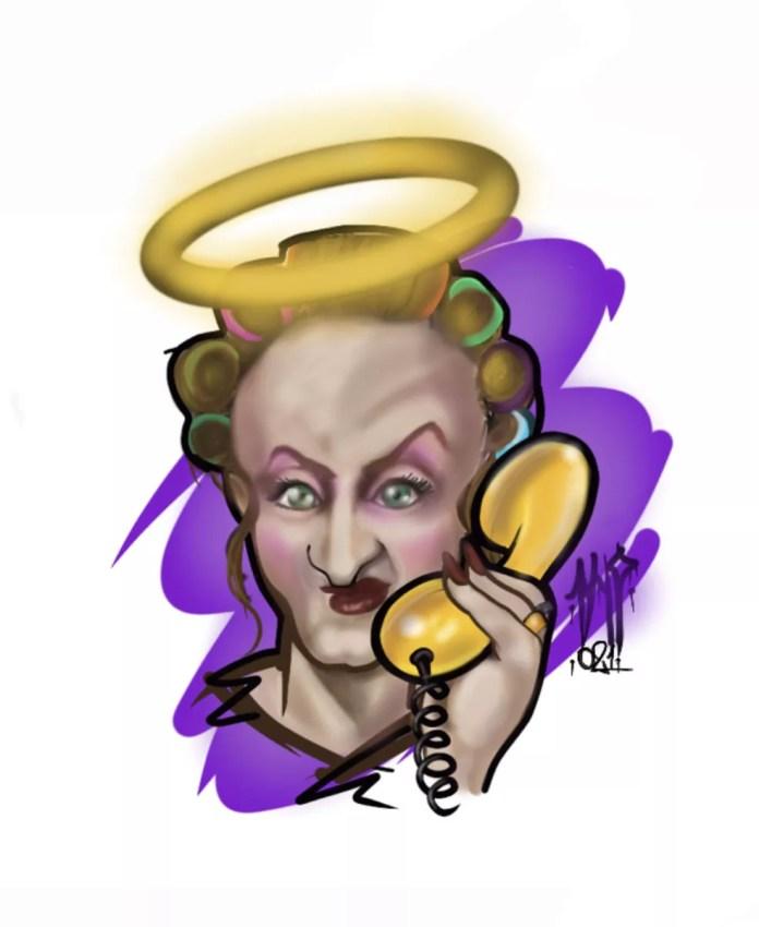 Rildo Barros faz homenagem a Paulo Gustavo — Foto: Rildo Barros/Associação dos Cartunistas do Brasil