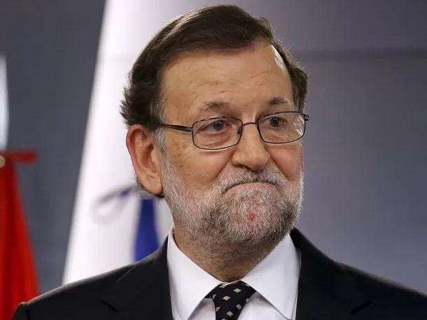 Mariano Rajoy durante coletiva de imprensa nesta sexta-feira (22) (Foto: REUTERS/Juan Medina)